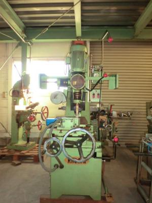 中古 油圧式角ノミ機 カガミ KHR25 2軸ロータリー ①