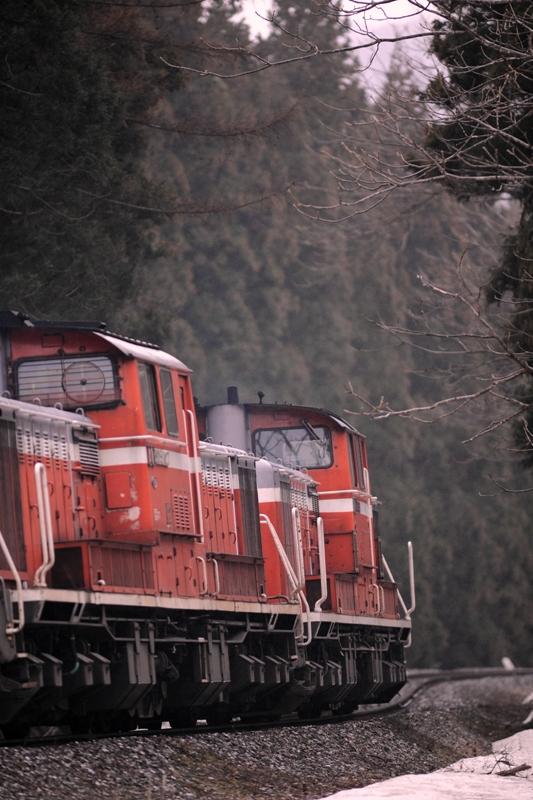 DD51磐越西線