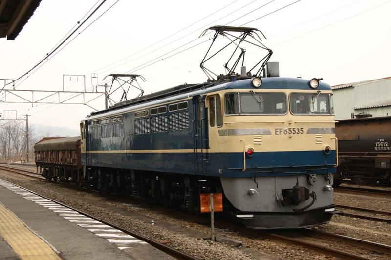 EF65 535 安中臨貨