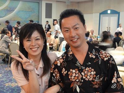 沖縄JC屋嘉比あかり理事長とブロ長