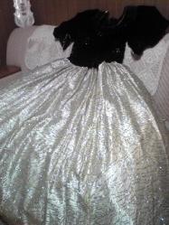 ドレス白黒