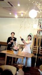 2010.3.28.典子ちゃん結婚パーティ1
