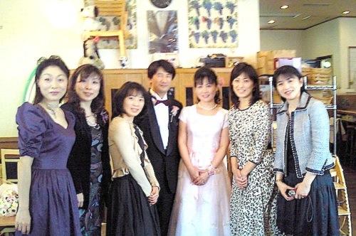 2010.3.28.典子ちゃん結婚パーティ2