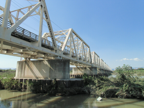 赤川仮橋9月下旬1-13