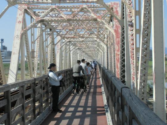 赤川仮橋9月下旬1-17