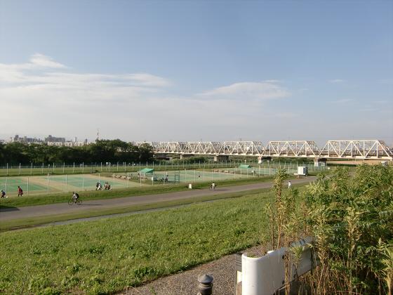 赤川仮橋2013年7月8月-01