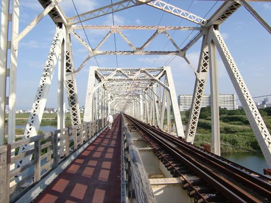 赤川仮橋2013年7月8月-05