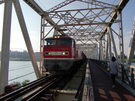 赤川仮橋2013年7月8月-08