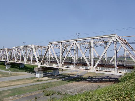 赤川仮橋2013年7月8月-12