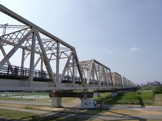 赤川仮橋2013年7月8月-16