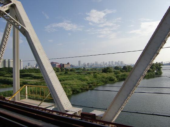 赤川仮橋2013年7月8月-18