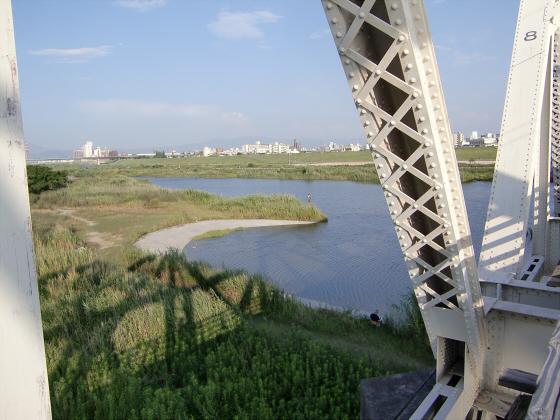 赤川仮橋2013年7月8月-19