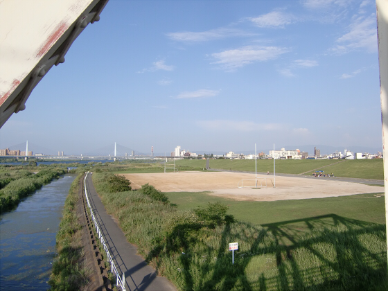 赤川仮橋2013年7月8月-20