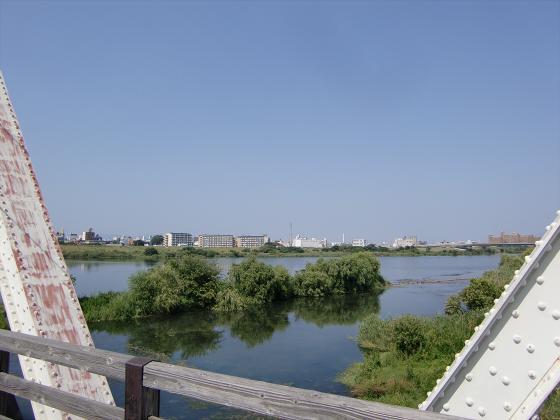 赤川仮橋2013年7月8月-24