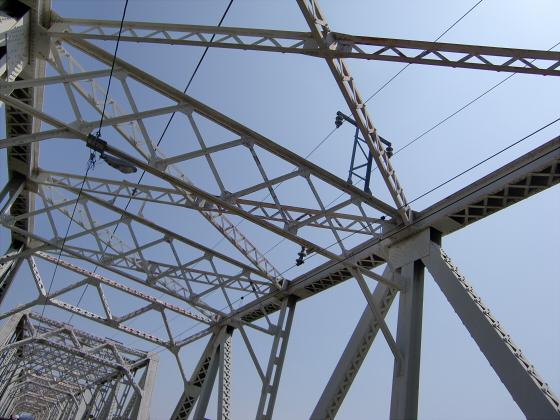 赤川仮橋2013年7月8月-25