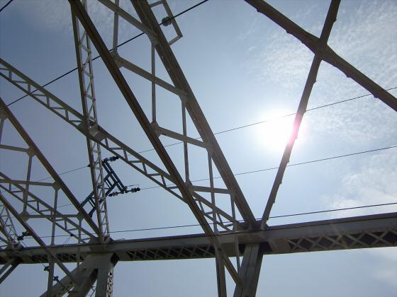 赤川仮橋2013年7月8月-26