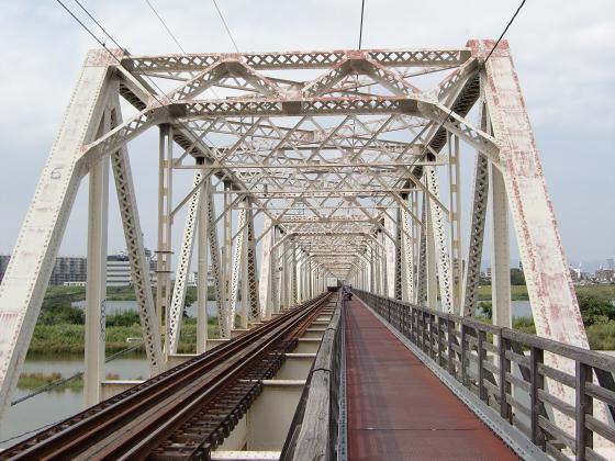 赤川仮橋2013年7月8月-31