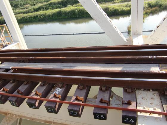 赤川仮橋2013年7月8月-33