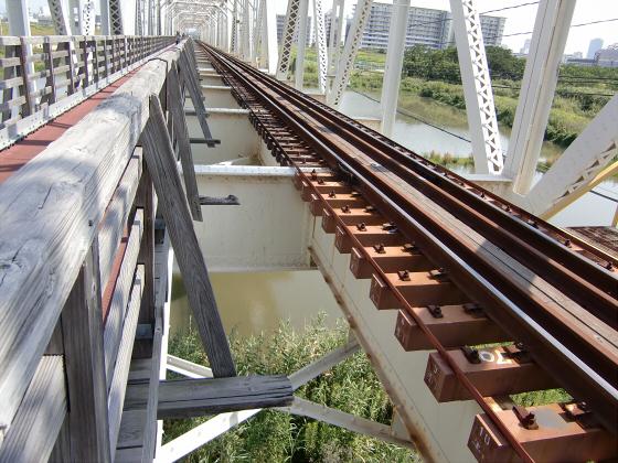 赤川仮橋2013年7月8月-34