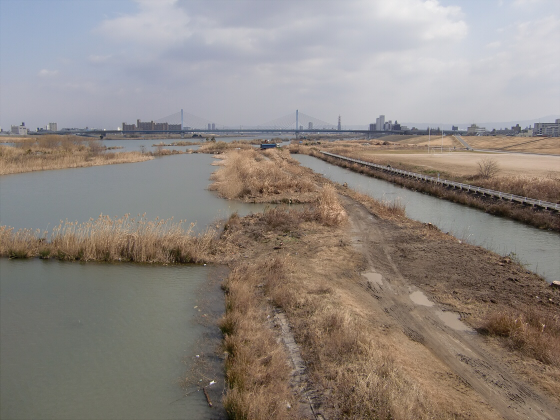 城東貨物赤川橋梁2013-02