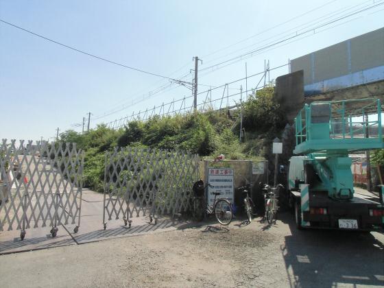 赤川近辺の工事現場等09