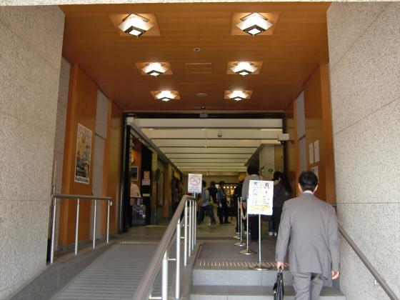 青い大阪城2011_11
