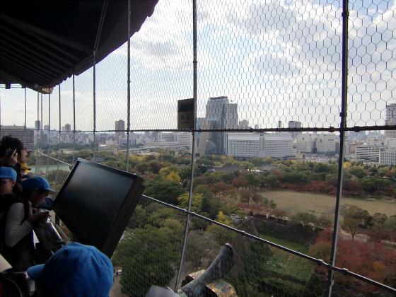 青い大阪城2011_16