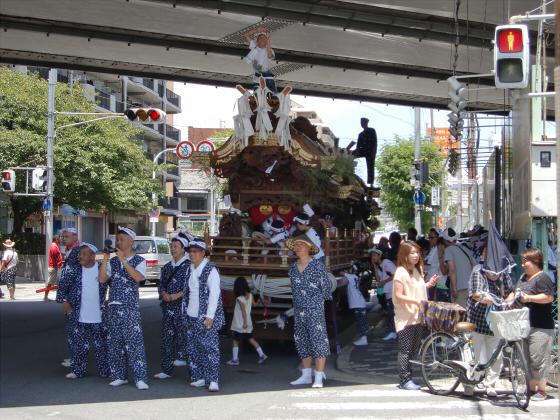 京橋にてだんじり発見06