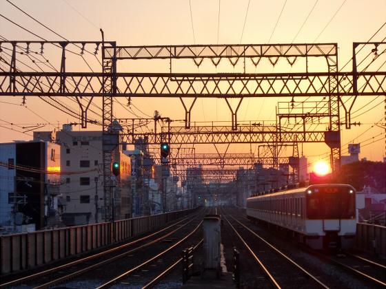今里駅にて近鉄しまかぜ11