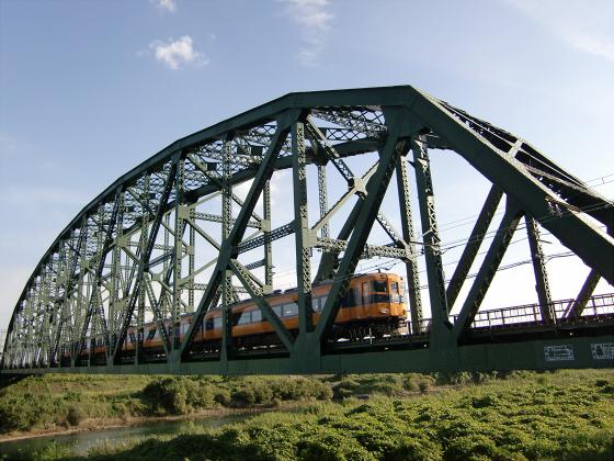 近鉄澱川橋梁10