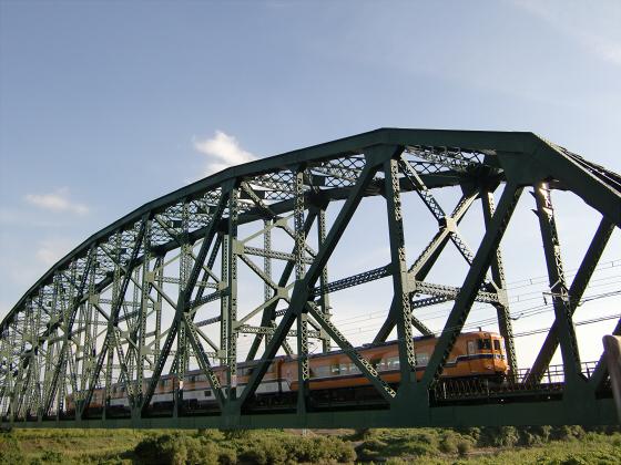 近鉄澱川橋梁12