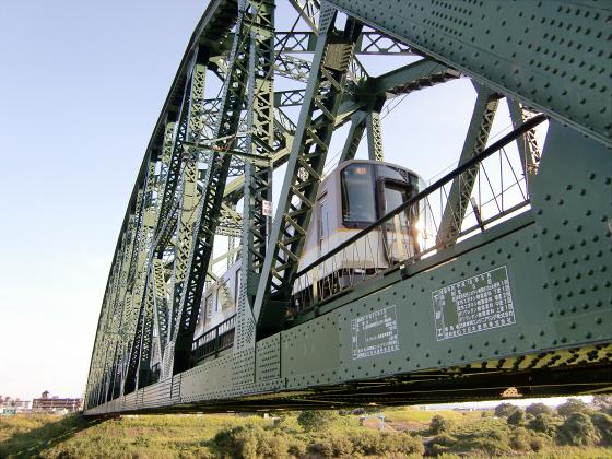 近鉄澱川橋梁13