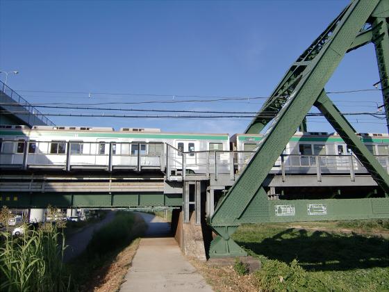 近鉄澱川橋梁17