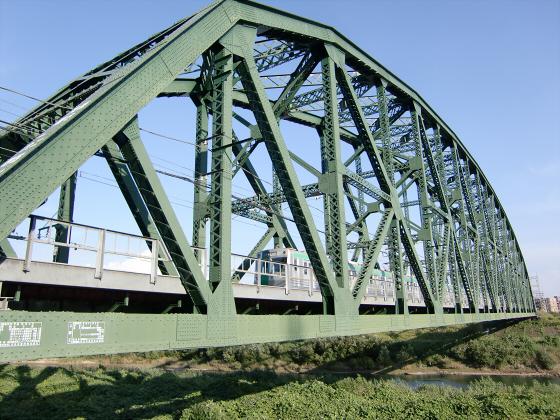 近鉄澱川橋梁18