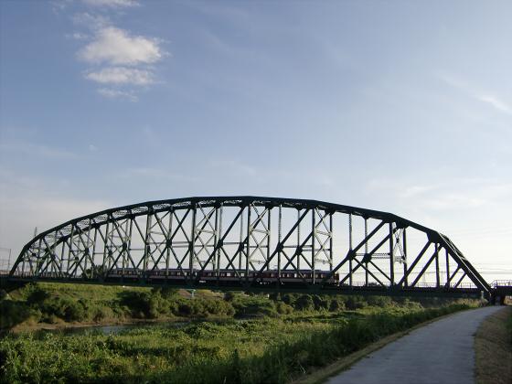 近鉄澱川橋梁23