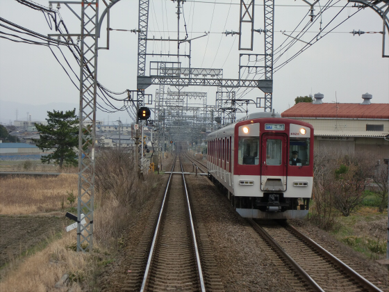 近鉄南大阪線走行中09