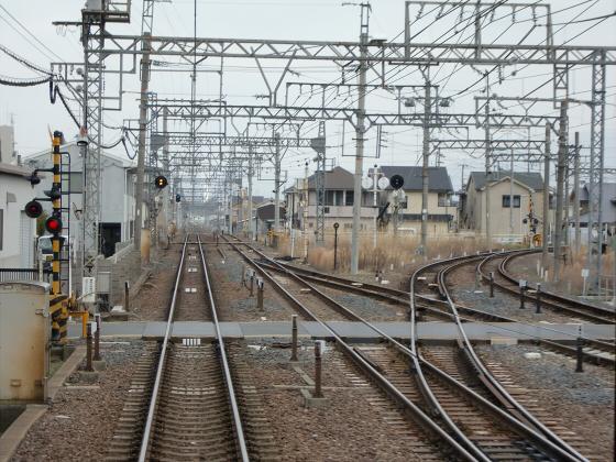 近鉄南大阪線走行中13
