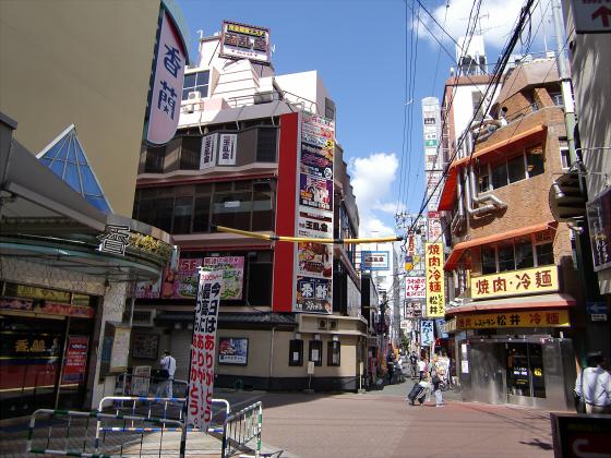 大阪の庶民の街、京橋08