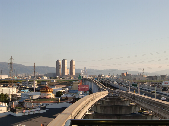 大阪モノレールに乗ってきました08