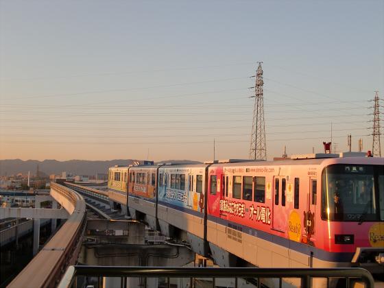 大阪モノレールに乗ってきました13