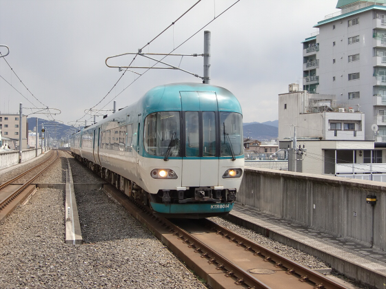 京都駅のホームなど01