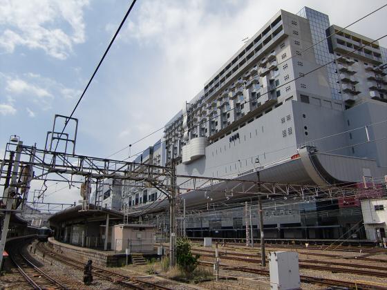 京都駅のホームなど06