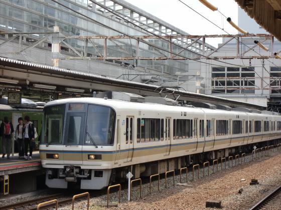 京都駅のホームなど10