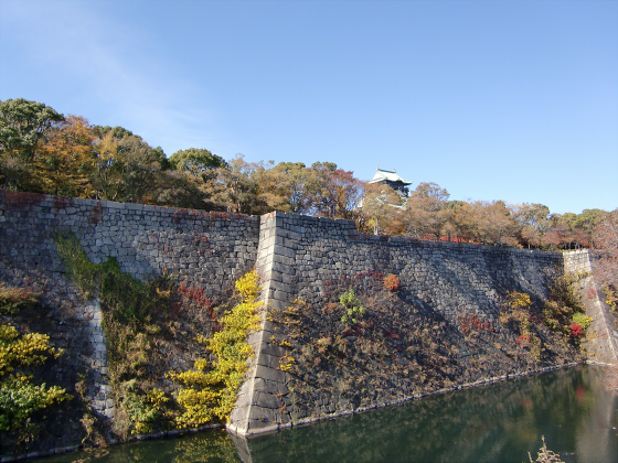 大阪城の紅葉2012-22