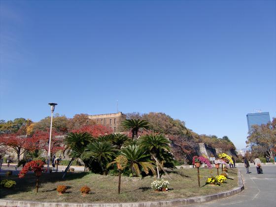 大阪城の紅葉2012-27