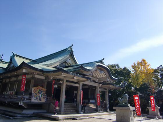 大阪城の紅葉2012-29