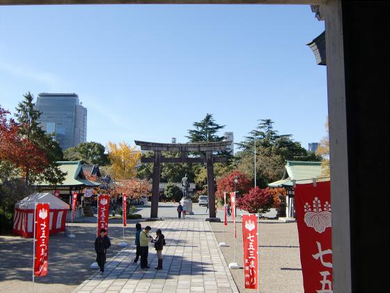 大阪城の紅葉2012-31