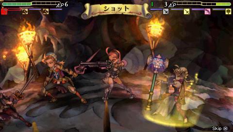 PSPのゲーム、グランナイツヒストリー02