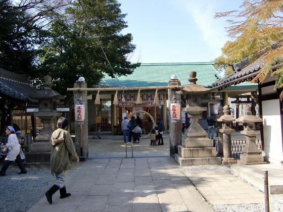 八劔神社の年越大祓祭01