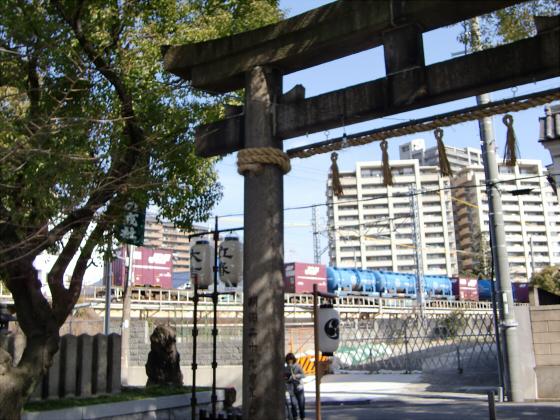 八劔神社の年越大祓祭09